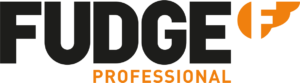 Fudge Professional Logo Horizontal for use on white backgrount for digital