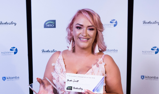 Jade Scott - Apprentice of the Year