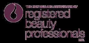 NZ+Assoc+of+Reg+Beauty+Professionals+logo+-+TALL+Maroon+on+White