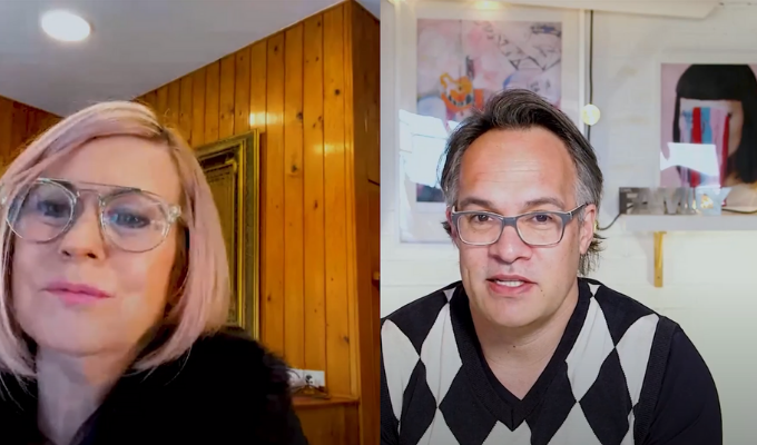 Cathy Davys and Carl Keely interview